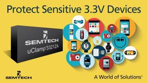 Semtech Expands Mobile Protection Platform with µClamp 3321ZA